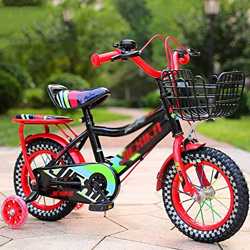 garantizado Bicicletas Duo Niños, Infantiles Unisex con Ruedas de Entrenamiento, Entrenamiento, Entrenamiento, Varias características de Moda, 12, 14, 16 y 18 Pulgadas, Regalos para Niños y niñas de Moda  mejor vendido