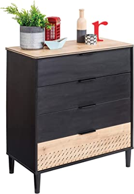 Amazon.com: Honey-Can-Do TBL-03759 Cómoda con 6 ...