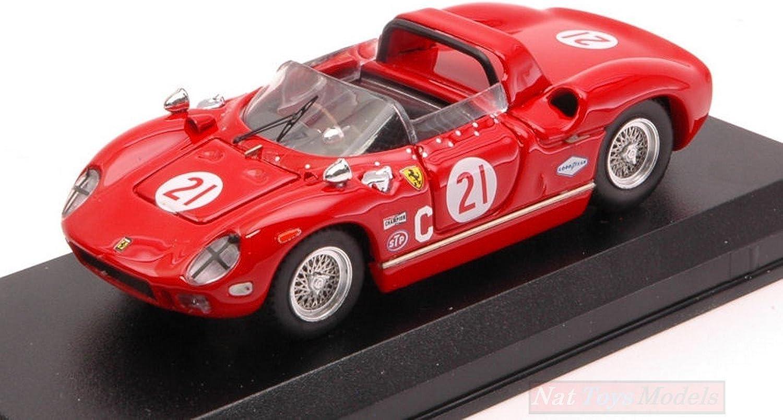 toma Art Model AM0368 Ferrari 330 P N.21 500 Mile Mile Mile Road 1967 W.Cooper-D.Drexler 1 43 Compatible con  100% precio garantizado