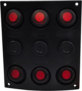 SeaSense Waterproof 6 Gang Toggle Switch Panel