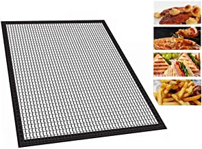 vinmax BBQ Grill Mesh Mat Non-Stick Grill Mat Cooking Mat Outdoor Grill Mesh Mats for Smoker Gas Charcoal Electric Grill Oven