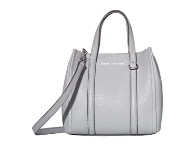Marc Jacobs Mini Tag Tote (Rock Grey) Handbags