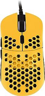 HK Gaming Mira M ultralekka powłoka o strukturze plastra miodu przewodowa mysz do gier RGB - do 12 000 cpi | 6 przycisków ...