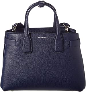 women's leather handbag shopping bag purse the banner blu