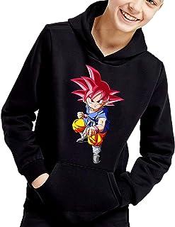 The Fan Tee Sudadera de NIÑOS Dragon Ball Goku Vegeta Bolas de Dragon Super Saiyan 071