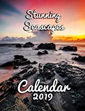 Stunning Seascapes Calendar 2019: Full-Color Portrait-Style Desk Calendar [Idioma Inglés]