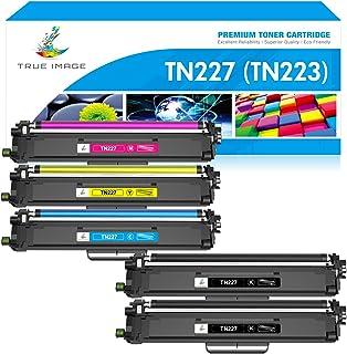 True Image Compatible Toner Cartridge Replacement for Brother TN227 TN-227 TN-227BK TN223 TN-223 for HL-L3210CW HL-L3290CD...