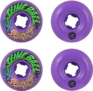 Santa Cruz Neon Green Slime Balls Mini Vomits 97a - 54mm Skateboard Wheels