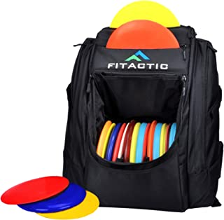 FITactic Luxury Frisbee Disc Golf Bag Backpack (Capacity: 25-30 Discs)