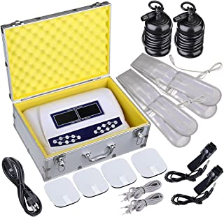 AW Dual User Foot Bath Spa Machine Ionic Detox Cell Cleanse Machine Colored LCD with 2