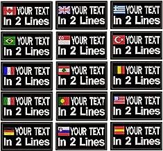 military name tags velcro uk