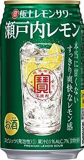 宝酒造 極上レモンサワー 瀬戸内レモン 焼酎とレモンにとことんこだわった焼酎の旨さをベースとしたレモンサワー [ チューハイ 350ml×24 ]