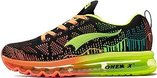 ONEMIX Luftkissen Laufschuhe Herren Leichter athletischer Sport Beiläufig Gehen Fitness Turnschuhe Sneaker