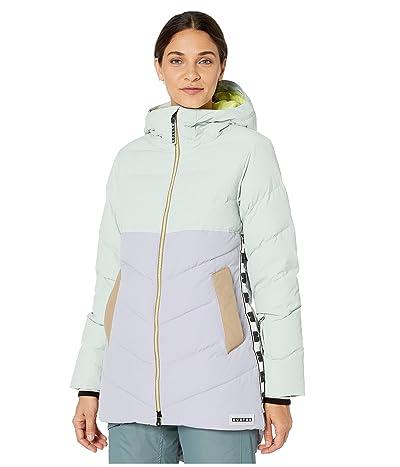 Burton Loyle Jacket (Aqua Gray/Lilac Gray/Timber Wolf/Sunny Lime) Women