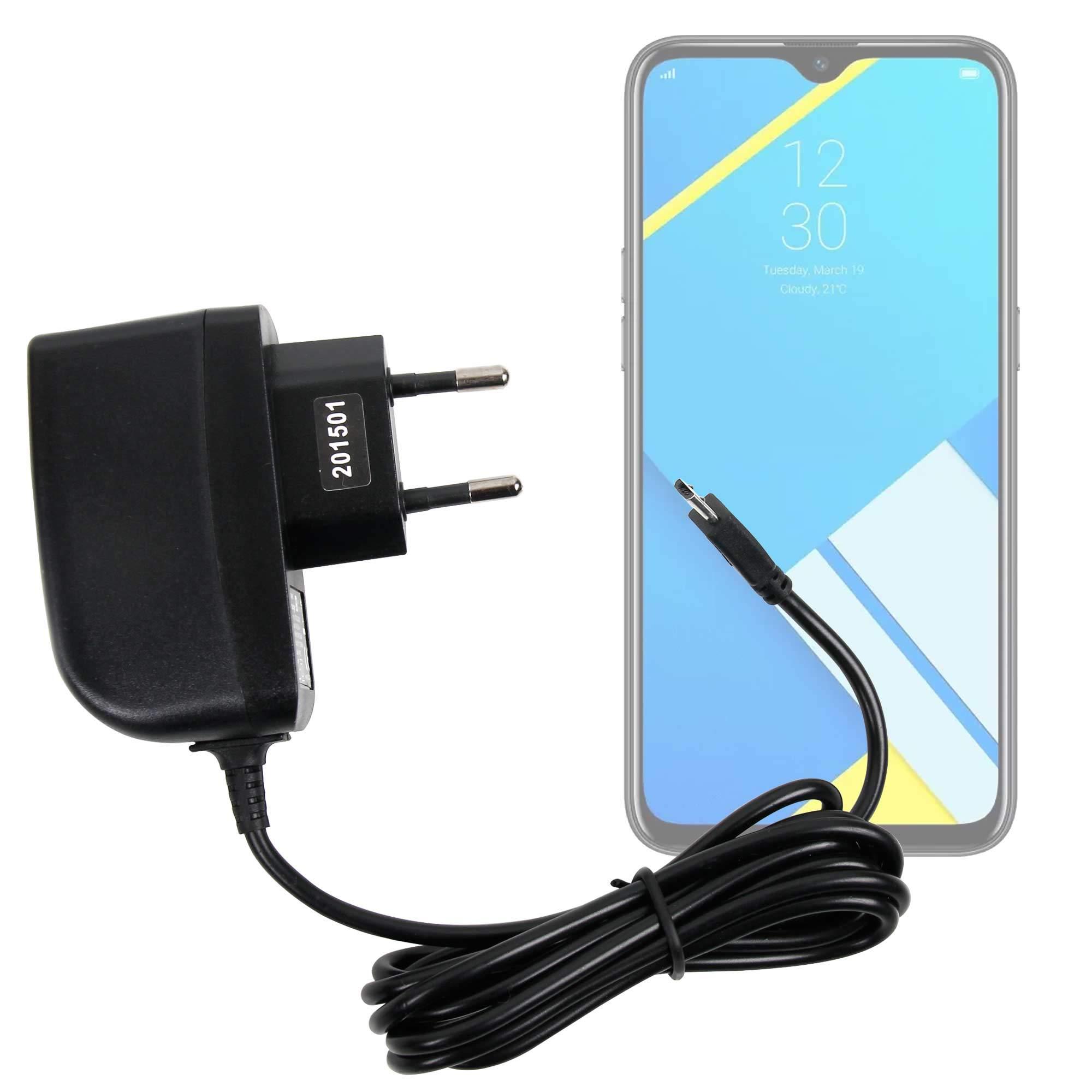 DURAGADGET Cargador (2 Amperios) Compatible con Smartphone Realme 5i, Realme C2s: Amazon.es: Electrónica
