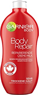 GARNIER Body Moisturizer BodyRepair / reparerende bodymilk voor intensieve hydraterende verzorging (met micro-esdoornsap -...