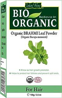 Indus Valley 100% Organic Pure & Natural Brahmi Powder (Bacopa Monnieri) For Hair Nourishment & Scalp Treatment