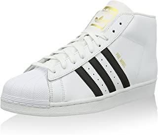 sneakers for cheap c45c9 03ba7 adidas Superstar Pro Model Chaussures Montantes pour Homme - Blanc - Blanc,  37 1