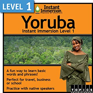 Instant Immersion Level 1 - Yoruba [Download]