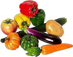 10 stuks/set kunstmatige groenten simulatie groenten decoratie keuken Home Decor realistische nep groenten Decor Set foto rekwisieten