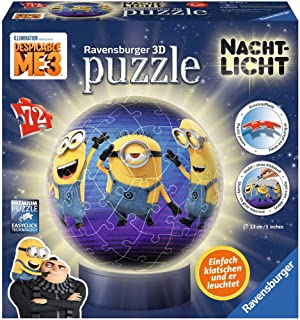 Ravensburger Iluminado Globe 12184-3D Puzzle 72 Piezas