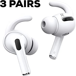 Proof Labs AirPods Pro Ear Hooks Covers Compatible with Apple AirPods Pro (White)