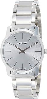 Calvin Klein Unisex Adult Analogue-Digital Quartz Watch with Stainless Steel Strap K2G22146
