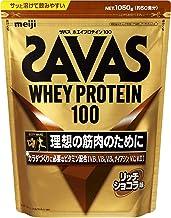 MEIJI Savas Whey Protein 100,Rich Chocolate Flavor, , ,