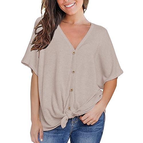 Short Sleeve Blouses Amazoncom