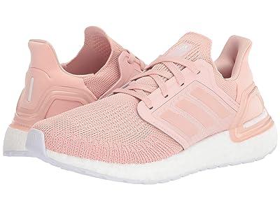 adidas Running Ultraboost 20 (Vapour Pink/Vapour Pink/Footwear White) Women