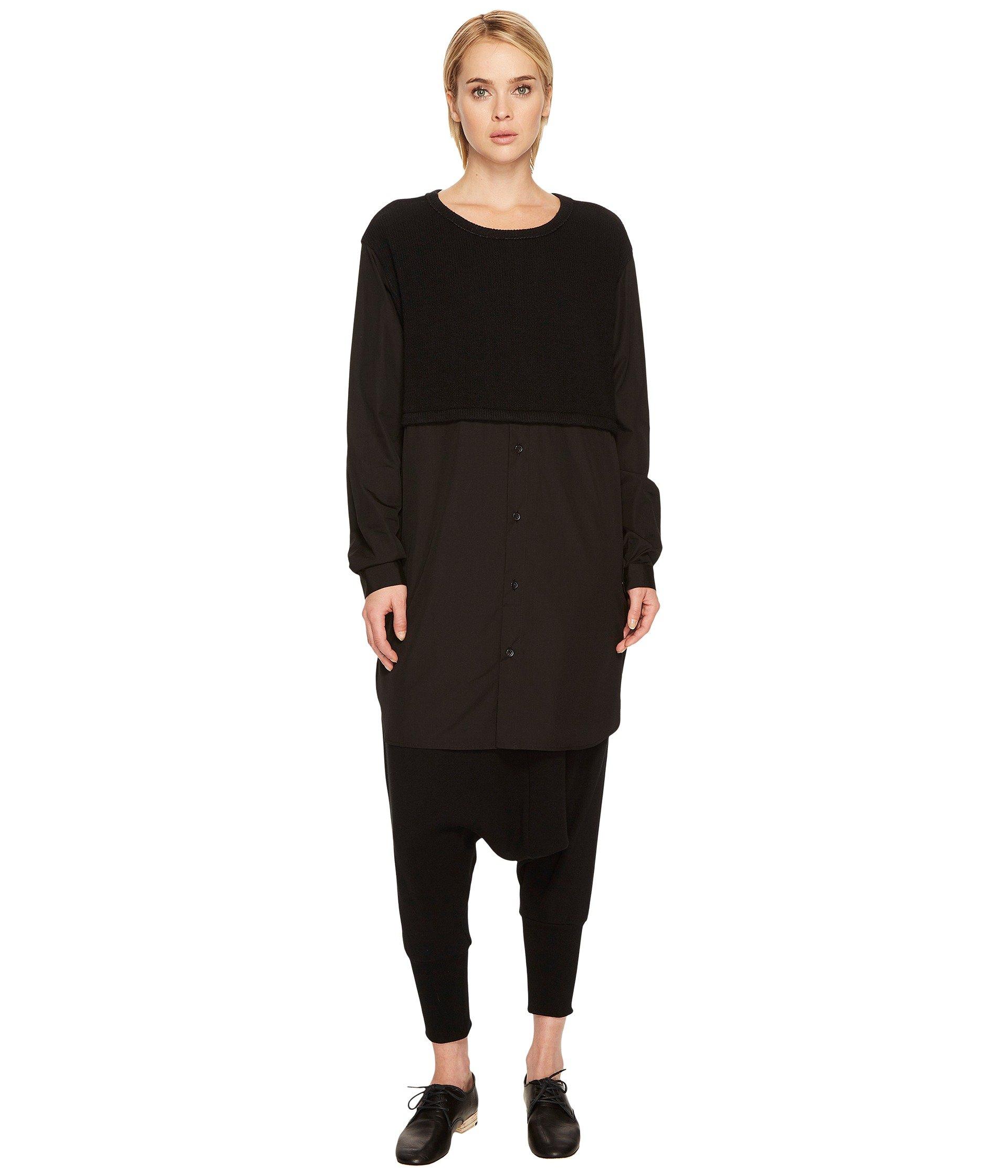 Saco para Mujer Yand#39;s by Yohji Yamamoto O-C/S Combi B Shirt Sweater  +