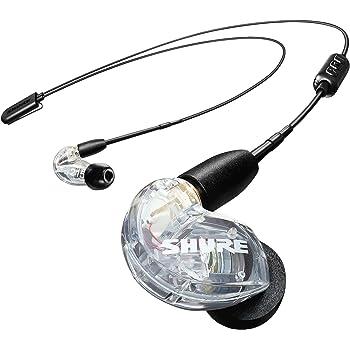 SHURE ワイヤレスイヤホン BT2シリーズ SE215-CL+BT2-A クリア : マイク・リモコン付 【国内正規品/メーカー保証2年】