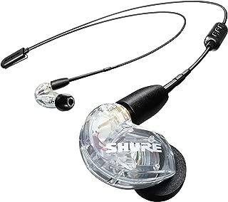 SHURE ワイヤレスイヤホン BT2シリーズ SE215-CL+BT2-A クリア : 高音質 / 高遮音性 / マイク・リモコン付 【国内正規品/メーカー保証2年】