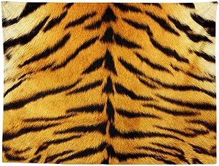 ND タペストリー 動物 トラ ヒョウ ゼブラ キリン 柄 おもしろ パチンコ パチスロ スロット 激熱 毛皮模様 インテリア おしゃれ 大判 大きい 部屋 飾り 壁 オンライン飲み会 背景布 (デザイン1)