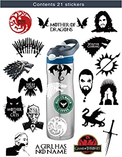 car stickers game of thrones
