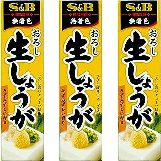 Japanese Seasoning S&B Grated Raw Ginger 3 tubes set