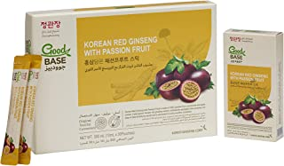 CheongKwanJang   Korean Red Ginseng with Good Base Passionfruit   Set of 3 boxes   10 Pouches per box   300ml for Extra St...