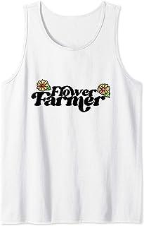 Flower Farmer Fleuriste. Jolis jardiniers de fleurs art Débardeur