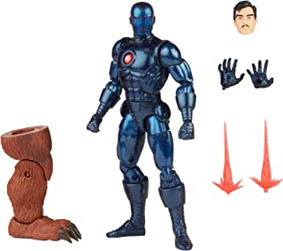 Hasbro Marvel Legends Series 6-inch Stealth Iron Man Action Figure Toy, Includes 5 Accessories and 1 Build-A-Figure Part, ...
