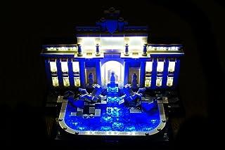 brickled LED Light Kit Trevi Fountain Lighting Kit for Lego 21020 usb powered (lego set not incuded)