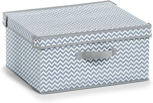 Caja de almacenaje Zeller 14422 fieltro, 28 x 28 x 28 cm color gris