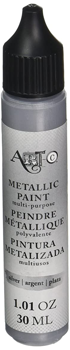Momenta Art-C Heavy Body Acrylic Paint 30ml-Metallic Silver ejoptpkggw10