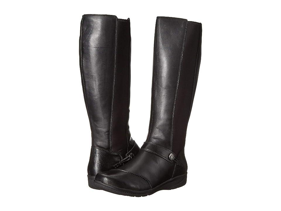 Clarks Cheyn Meryl (Black Leather) Women