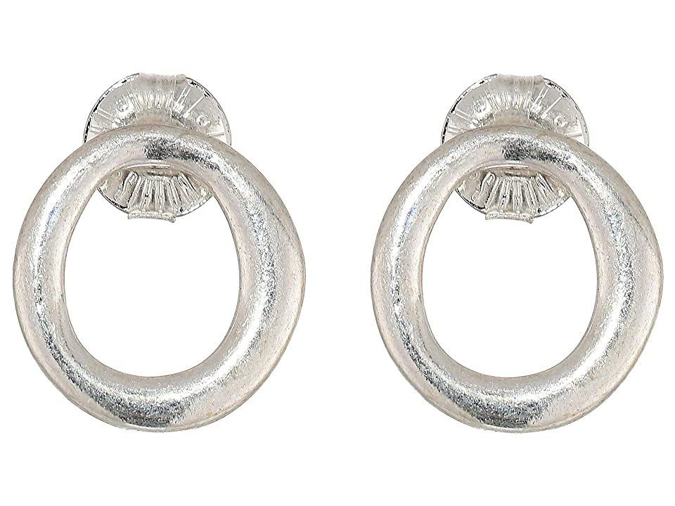 Robert Lee Morris - Robert Lee Morris Circle Stud Earrings