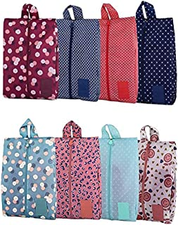 8Pcs Portable Oxford Shoe Storage Bags with Zipper Closure for Travel Multifunctional Organization