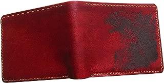 Unik4art - Godzilla King monster Japanese movie series leather handmade men's wallet with customization - 1P