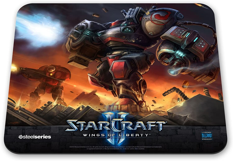 SteelSeries QcK StarCraft II Marauder Edition Gaming Mauspad B003EIKZEG   | Erste Kunden Eine Vollständige Palette Von Spezifikationen