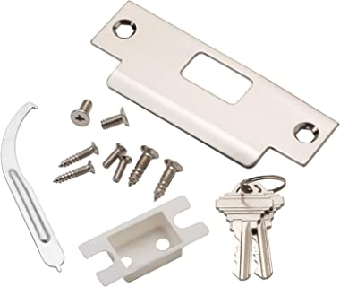 Global Door Controls Commercial Storeroom Ball Knob Lockset in Brushed Chrome