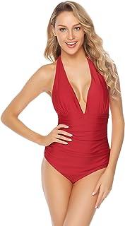 outlet e9363 c19ee Amazon.it: Rosso - Costumi interi / Mare e piscina ...