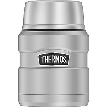 Thermos サーモス ステンレスキング・シルバー・フードジャー(0.45L) 保温性抜群 (シルバー)